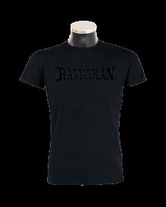 RANTANPLAN 'Black on Black' handmade T-Shirt