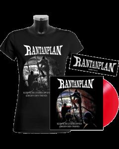 RANTANPLAN 'Kein Schulterklopfen (Gegen den Trend)' 25 Jahre Edition Vinyl Girlie Bundle