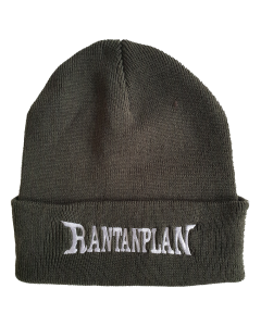 RANTANPLAN 'Logo' Beanie, oliv