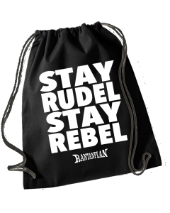 RANTANPLAN 'Stay Rudel - Stay Rebel' Turnbeutel