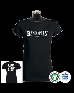 RANTANPLAN 'Stay Rudel Stay Rebel' T-Shirt