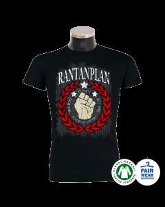 RANTANPLAN 'Scheiss auf gestern' T-Shirt schwarz